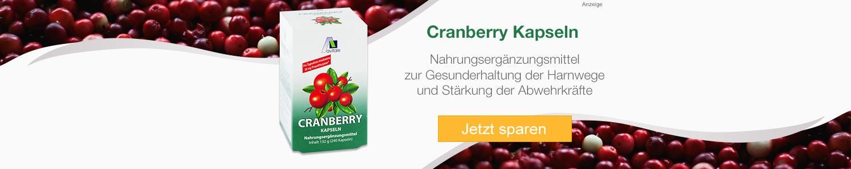Jetzt günstig online Cranberry Kapseln kaufen!