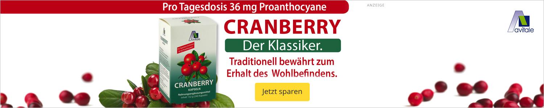 Jetzt Cranberry Kapseln günstig kaufen