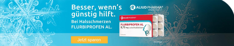Jetzt Aliud Flurbiprofen günstig online kaufen!