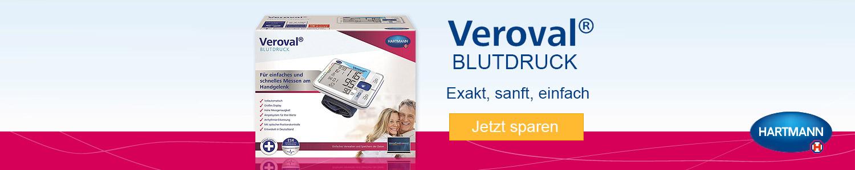 Jetzt Veroval Handgelenk-Blutdruckmessgerät günstig online kaufen!