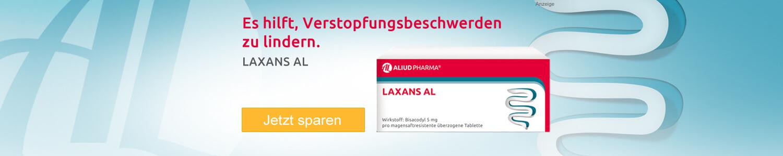 Jetzt LAXANS AL von Aliud günstig kaufen!