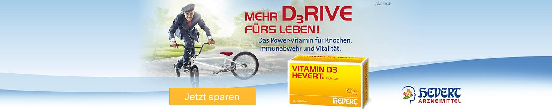 Jetzt Vitamin D3 günstig online kaufen!
