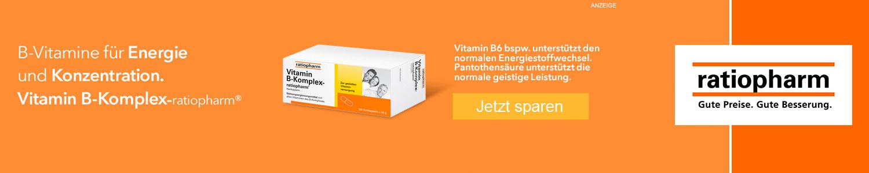 Jetzt Vitamin B-Komplex günstig online kaufen!