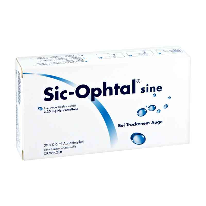 Sic Ophtal sine Augentropfen  Augentropfen  bei apolux.de bestellen