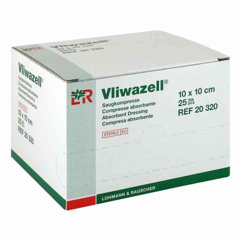 Vliwazell Saugkompressen 10x10 cm steril  bei apolux.de bestellen