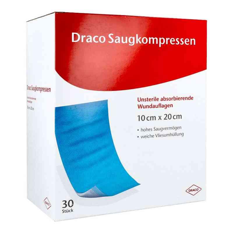 Saugkompressen unsteril 10x20cm Draco  bei apolux.de bestellen