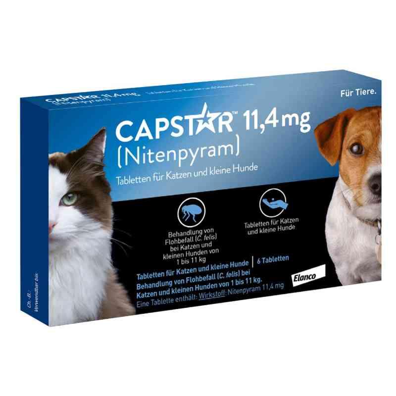 Capstar 11,4 mg für Katzen  und kleine Hunde Tabletten  bei apolux.de bestellen