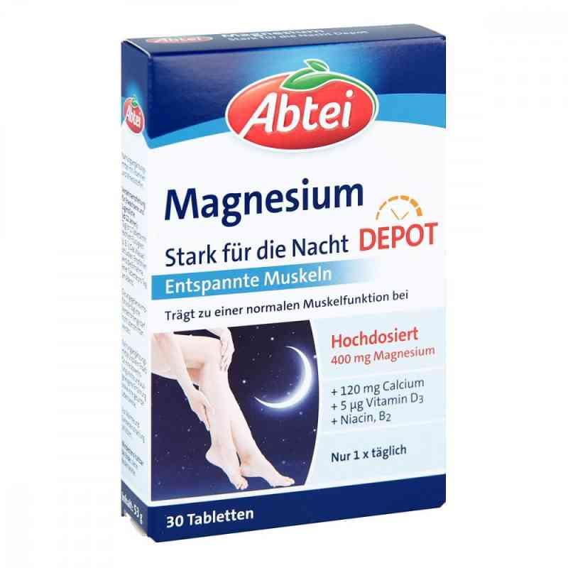 Abtei Magnesium Stark für die Nacht Depot Tabletten  bei apolux.de bestellen
