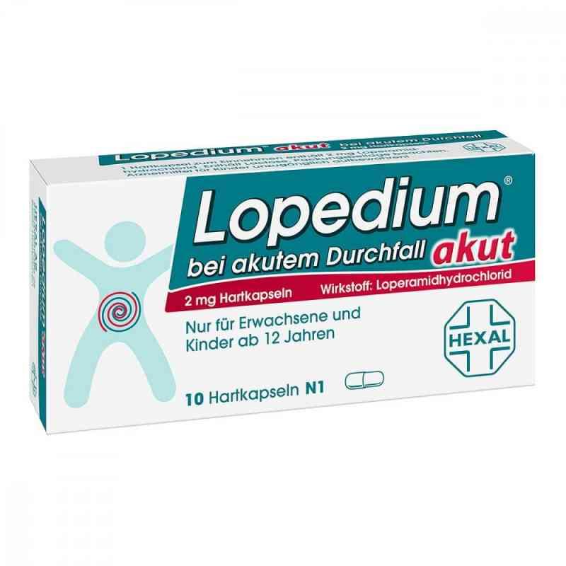Lopedium akut bei akutem Durchfall  bei apolux.de bestellen