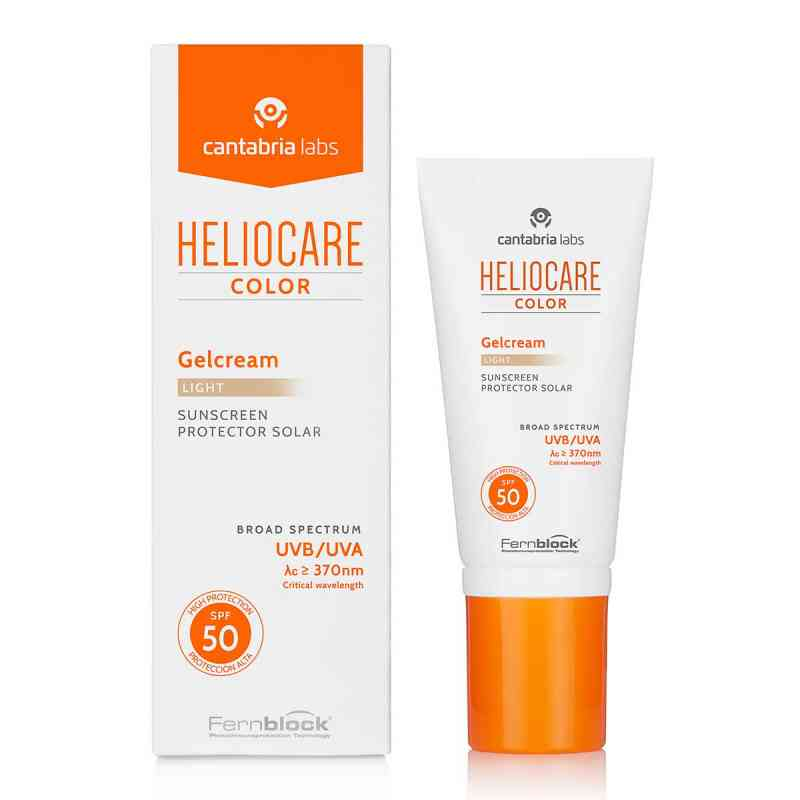 Heliocare Color Gelcream light Spf50  bei apolux.de bestellen