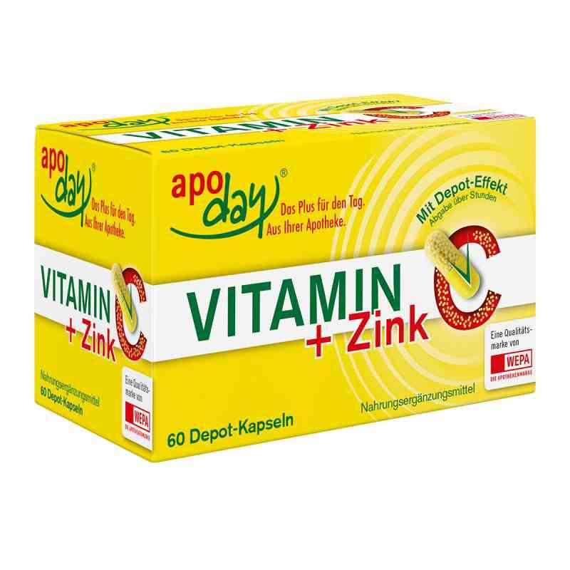 Vitamin C + Zink Depot Kapseln  bei apolux.de bestellen