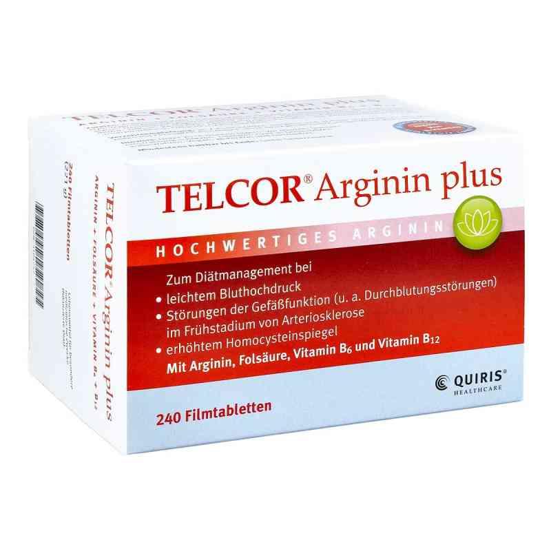 Telcor Arginin plus Filmtabletten  bei apolux.de bestellen