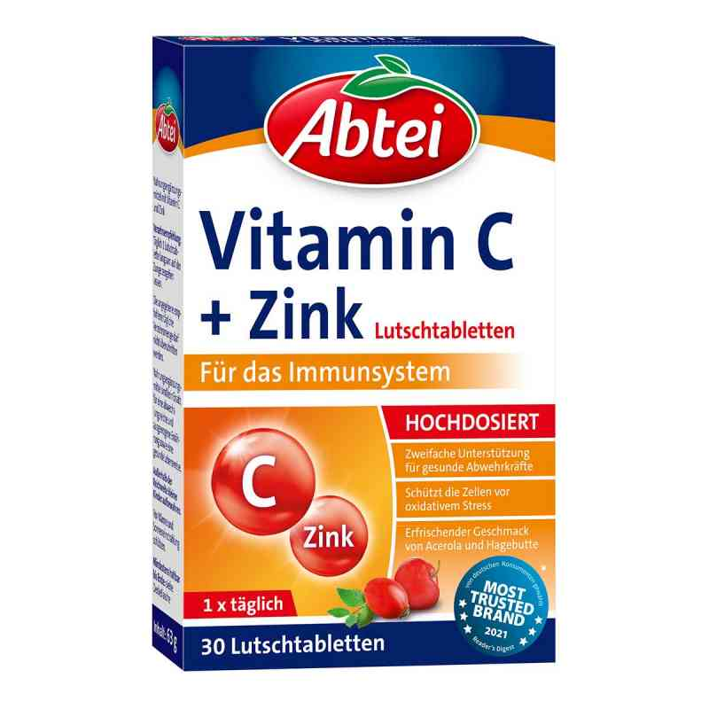 Abtei Vitamin C plus Zink Lutschtabletten  bei apolux.de bestellen