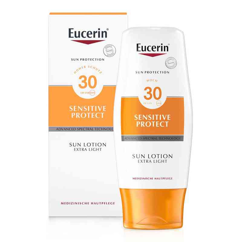 Eucerin Sun Sensitive Protect Lotion Extra Light LSF 30  bei apolux.de bestellen