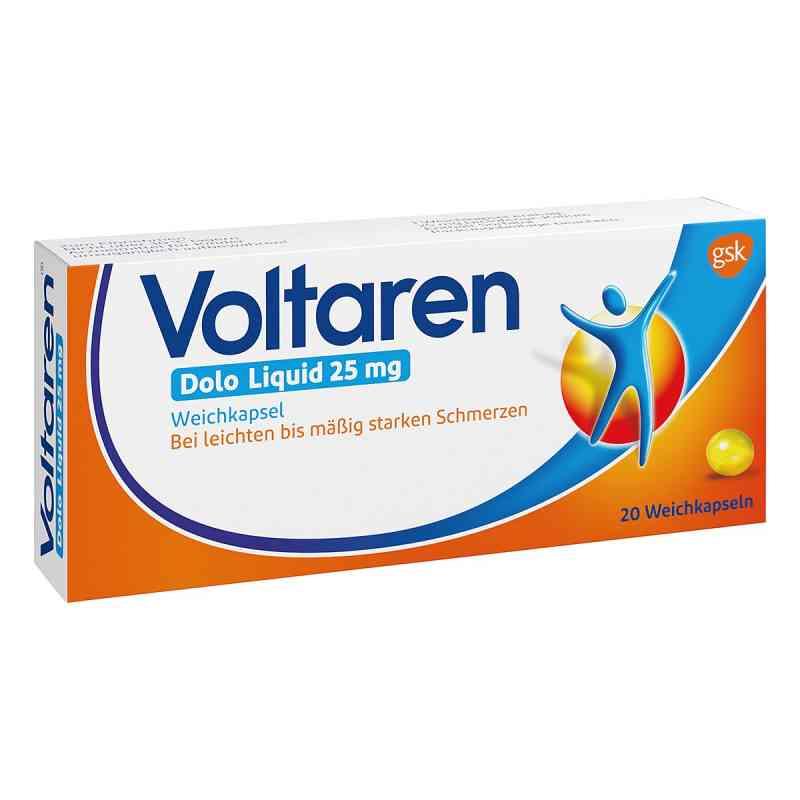 Voltaren Dolo Liquid 25mg Weichkapsel mit Diclofenac  bei apolux.de bestellen