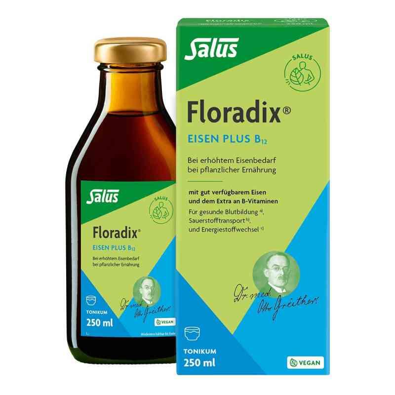 Floradix Eisen plus B12 vegan Tonikum bei apolux.de bestellen