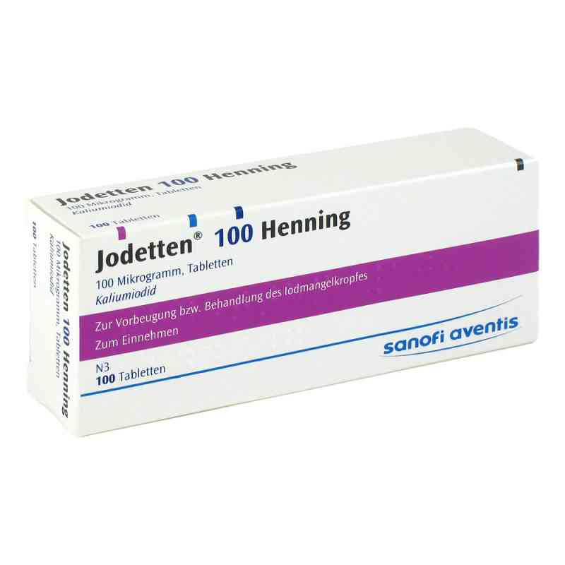 Jodetten 100 Henning 100 Mikrogramm  bei apolux.de bestellen