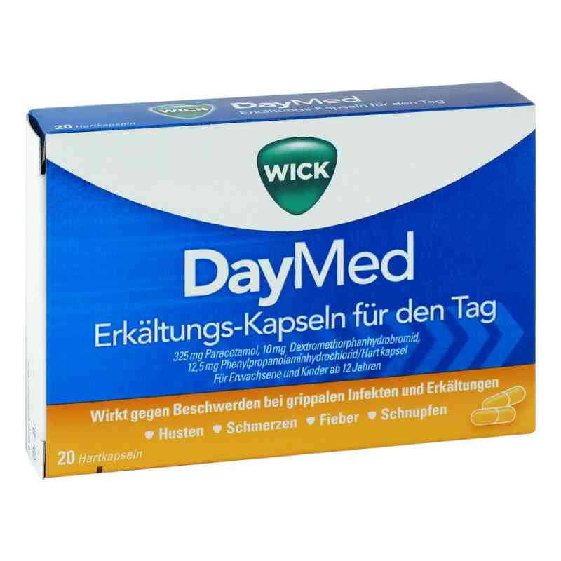 WICK DayMed Erkältungs-Kapseln für den Tag  bei apolux.de bestellen
