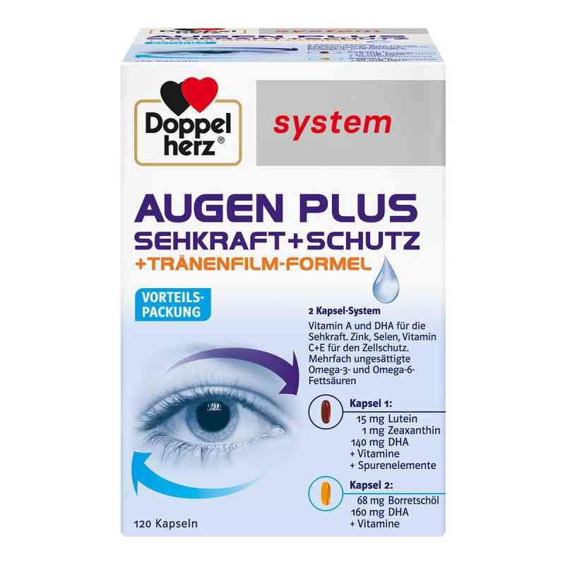 Doppelherz Augen plus Sehkraft+Schutz System Kapsel (n)  bei apolux.de bestellen