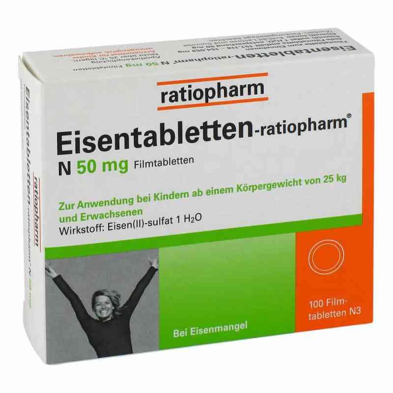 Eisentabletten-ratiopharm N 50mg bei apolux.de bestellen