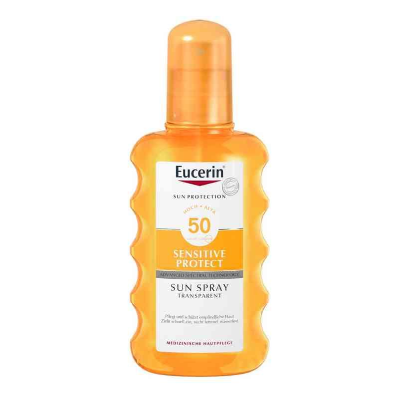 Eucerin Sun Sensitive Protect Spray Transparent LSF 50  bei apolux.de bestellen