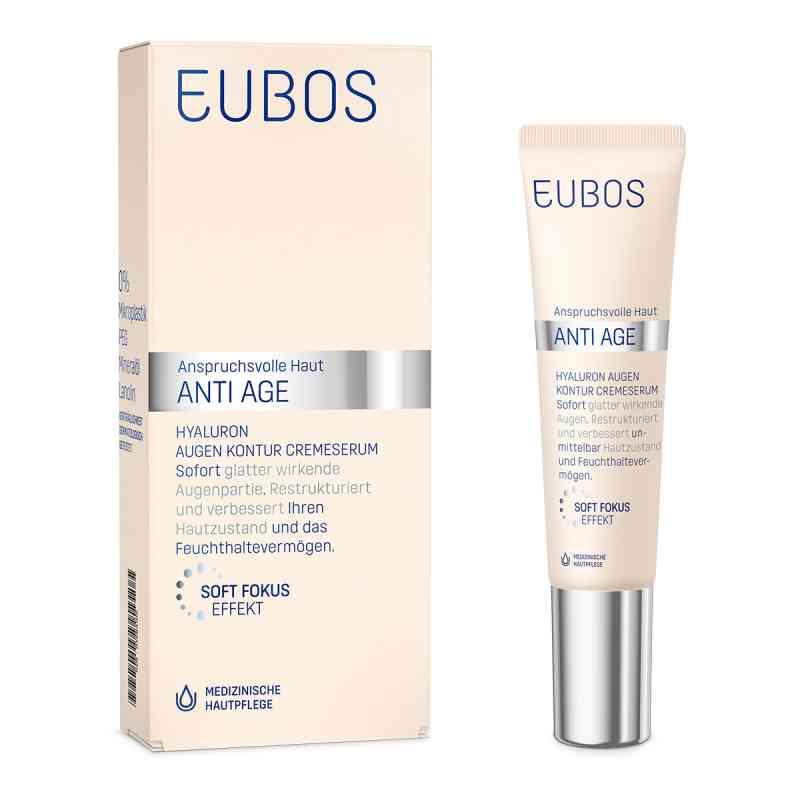 Eubos Sensitive Hyaluron Augen Kontur Cremeserum  bei apolux.de bestellen