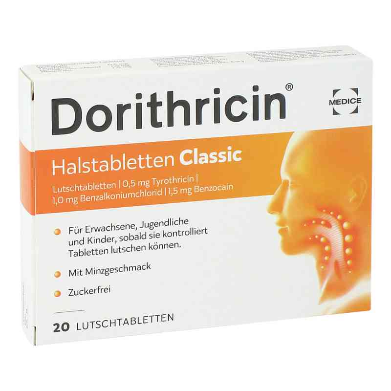 Dorithricin Halstabletten Classic 0,5mg/1,0mg/1,5mg  bei apolux.de bestellen