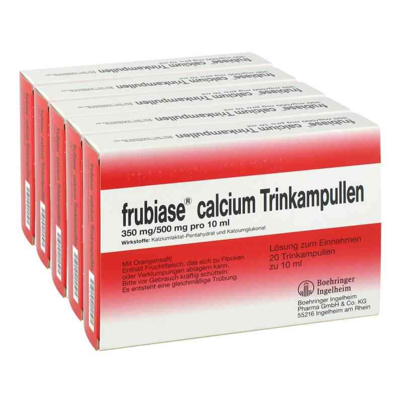 frubiase calcium t trinkampullen 5x20 stk online g nstig. Black Bedroom Furniture Sets. Home Design Ideas