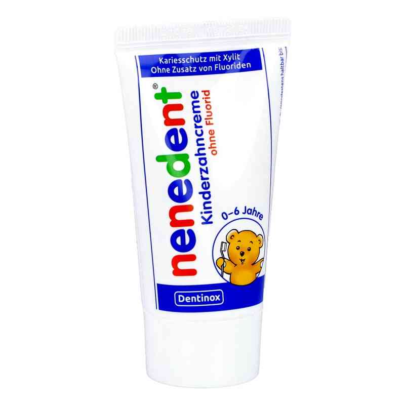 Nenedent Kinderzahncreme ohne Fluorid Standtube  bei apolux.de bestellen