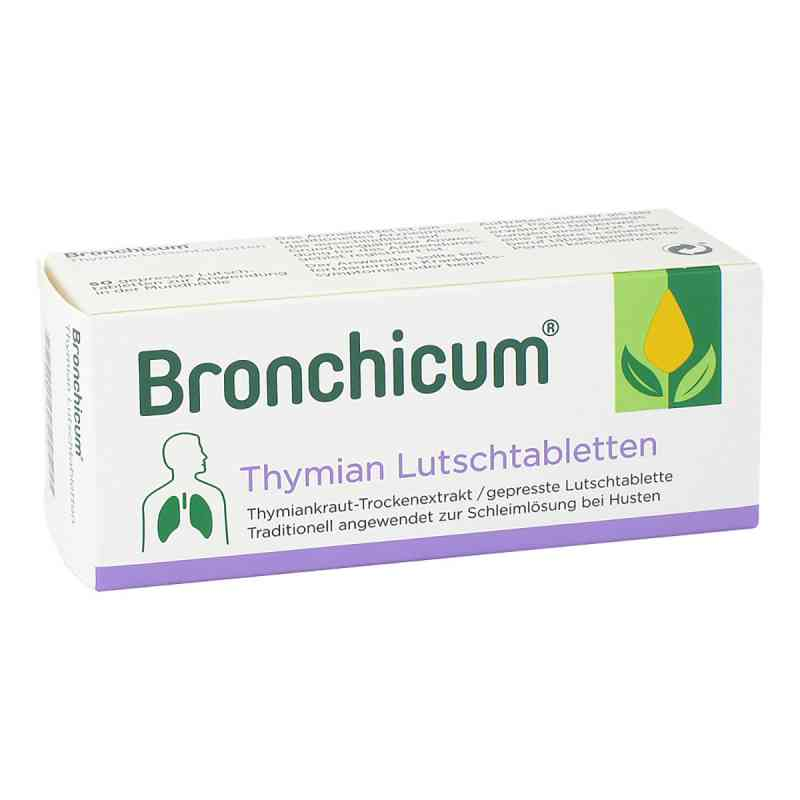 Bronchicum Thymian Lutschtabletten - bei Husten  bei apolux.de bestellen