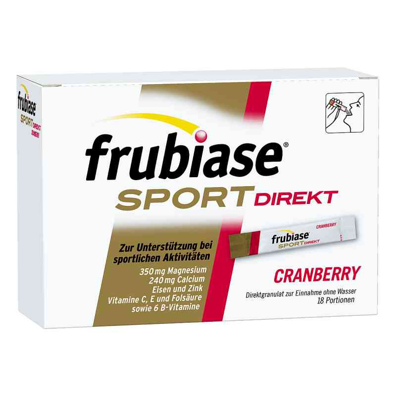 Frubiase Sport Direkt Granulat Cranberry  bei apolux.de bestellen