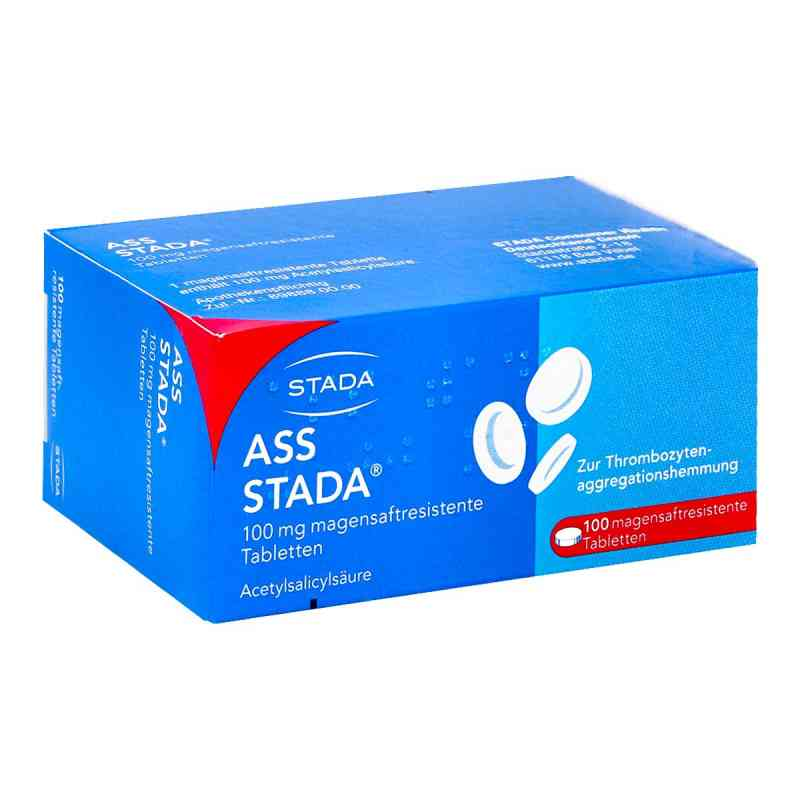 Ass Stada 100 mg magensaftresistente Tabletten  bei apolux.de bestellen