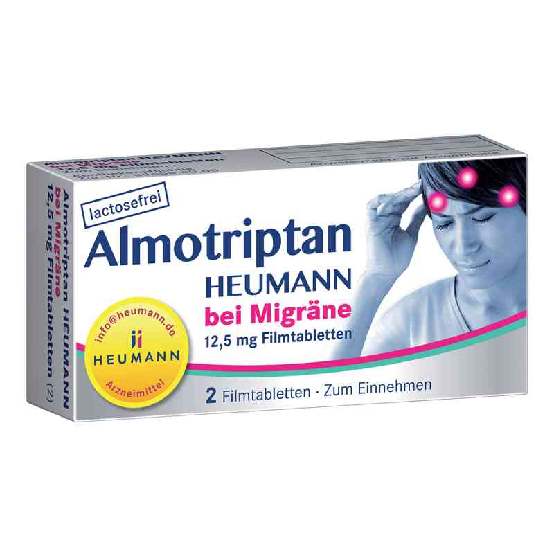 Almotriptan Heumann bei Migräne 12,5mg  bei apolux.de bestellen