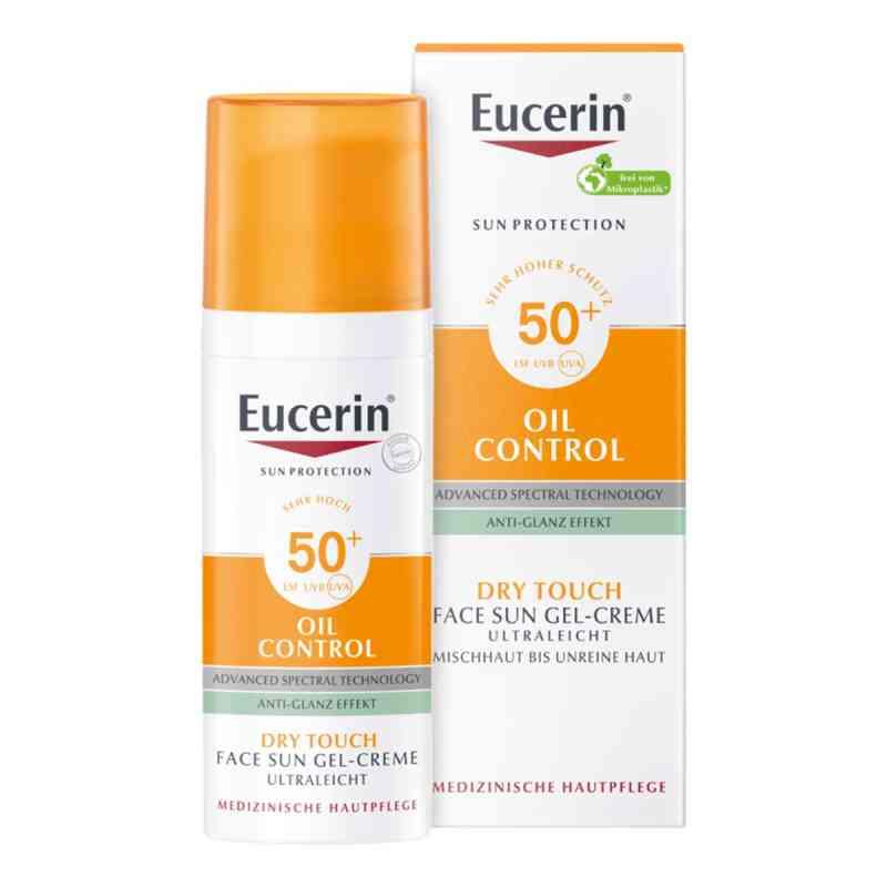 Eucerin Sun Gel-creme Oil Contr.anti-gl.eff.lsf50+  bei apolux.de bestellen