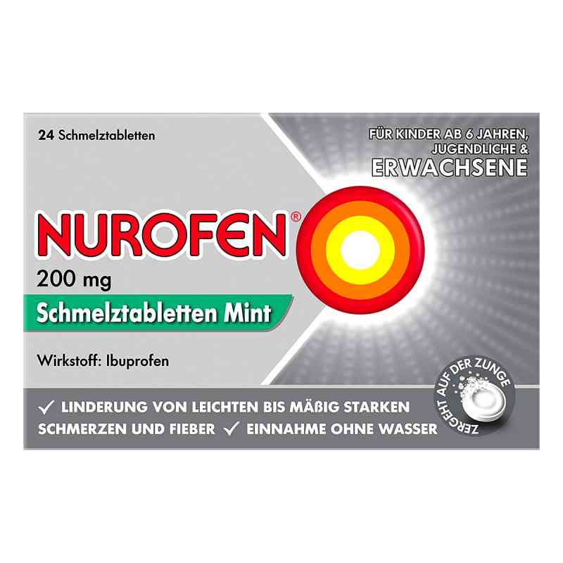Nurofen 200 mg Schmelztabletten Mint  bei apolux.de bestellen