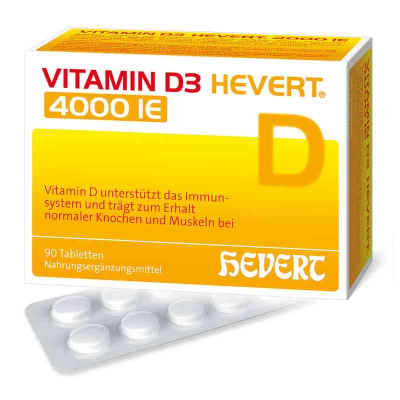 Vitamin D3 Hevert 4.000 I.e. Tabletten  bei apolux.de bestellen