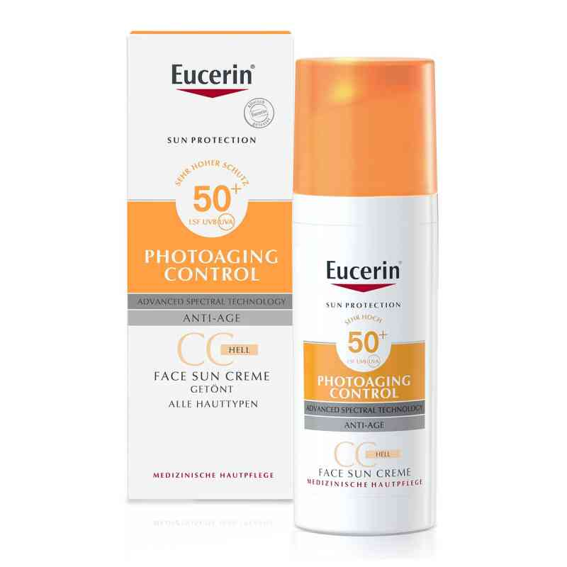 eucerin sun cc creme get nt hell lsf 50 50 ml online. Black Bedroom Furniture Sets. Home Design Ideas