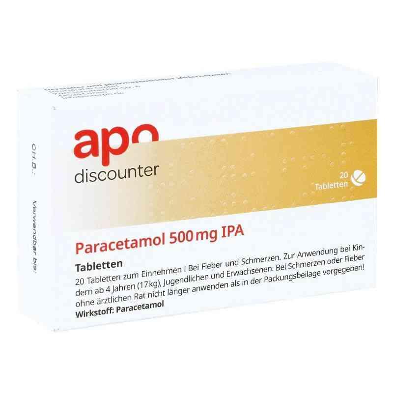 Paracetamol 500mg von apo-discounter bei Fieber und Schmerzen  bei apolux.de bestellen