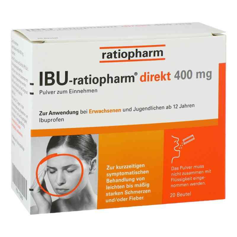 Ibu Ratiopharm direkt 400 mg Pulver zum Einnehmen  bei apolux.de bestellen