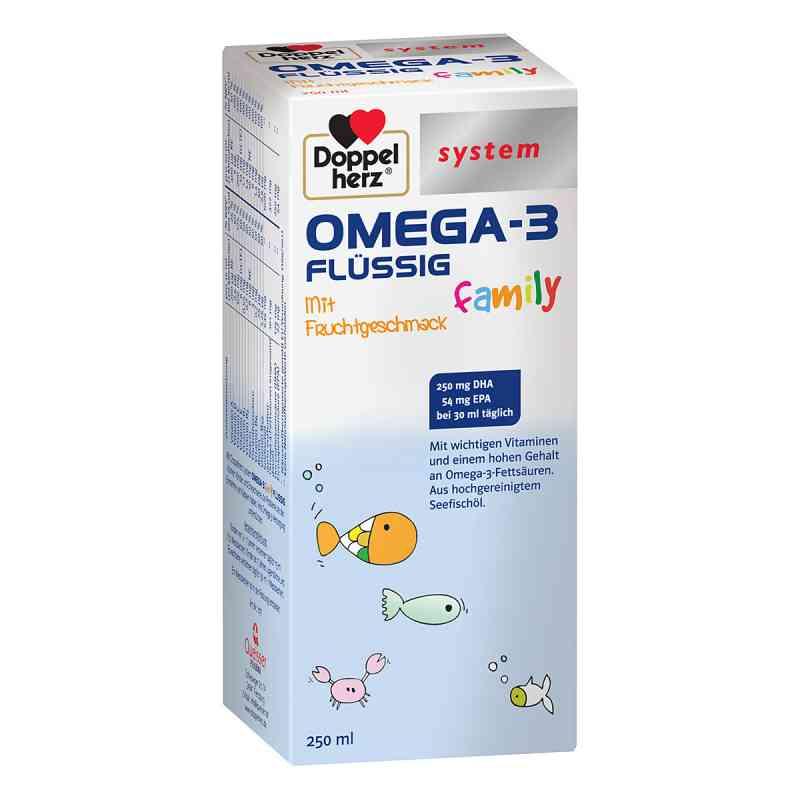 Doppelherz Omega-3 family flüssig system  bei apolux.de bestellen