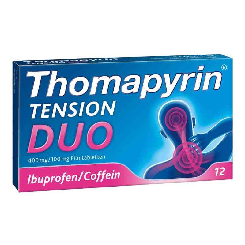 Thomapyrin TENSION DUO 400mg/100mg bei Kopfschmerzen  bei apolux.de bestellen