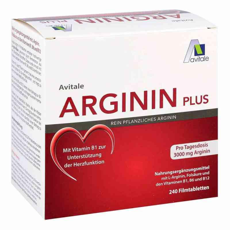 Arginin plus Vitamin B1+b6+b12+folsäure Filmtabletten  bei apolux.de bestellen