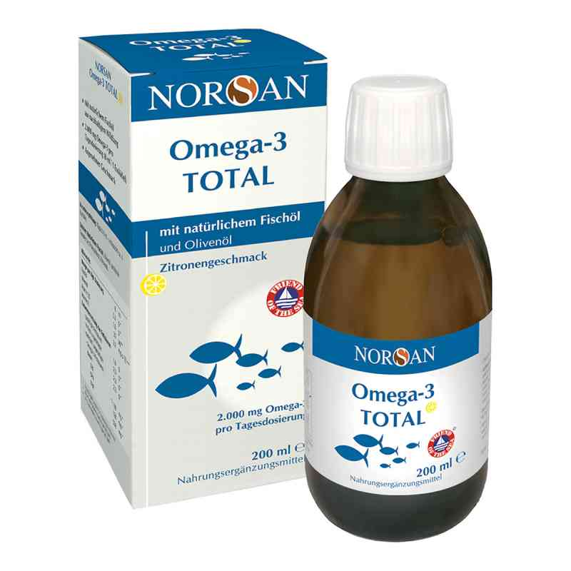 Omega 3 Total Fischöl flüssig Norsan  bei apolux.de bestellen