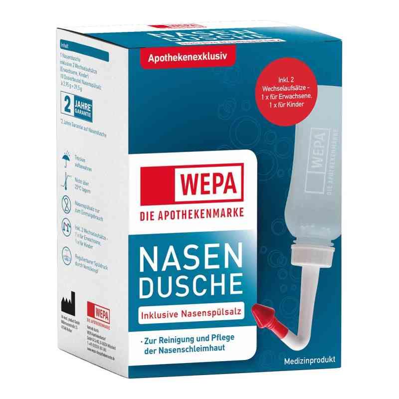 Wepa Nasenspülkanne mit 10x2,95 g Nasenspülsalz  bei apolux.de bestellen