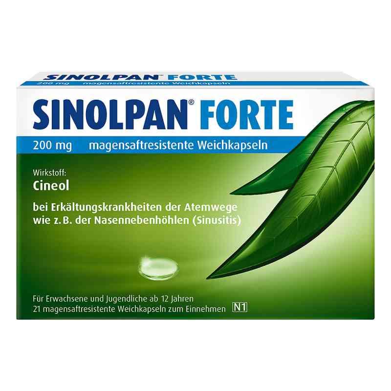 Sinolpan forte 200 mg magensaftresistent Weichkapseln  bei apolux.de bestellen