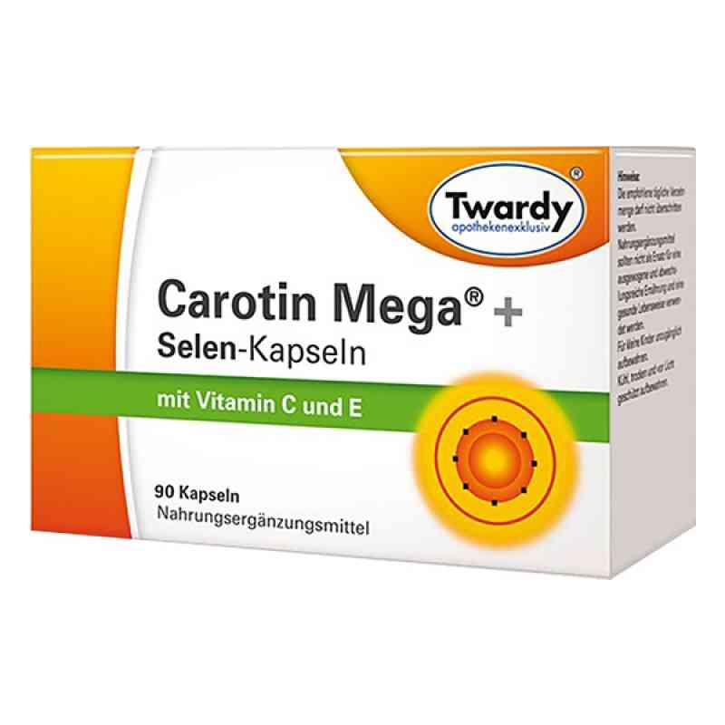 Carotin Mega+selen Kapseln  bei apolux.de bestellen