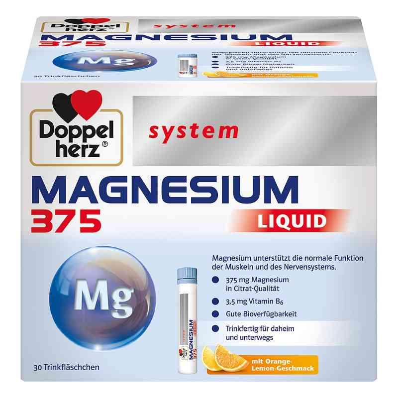 Doppelherz Magnesium 375 Liquid system Trinkampulle (n)   bei apolux.de bestellen