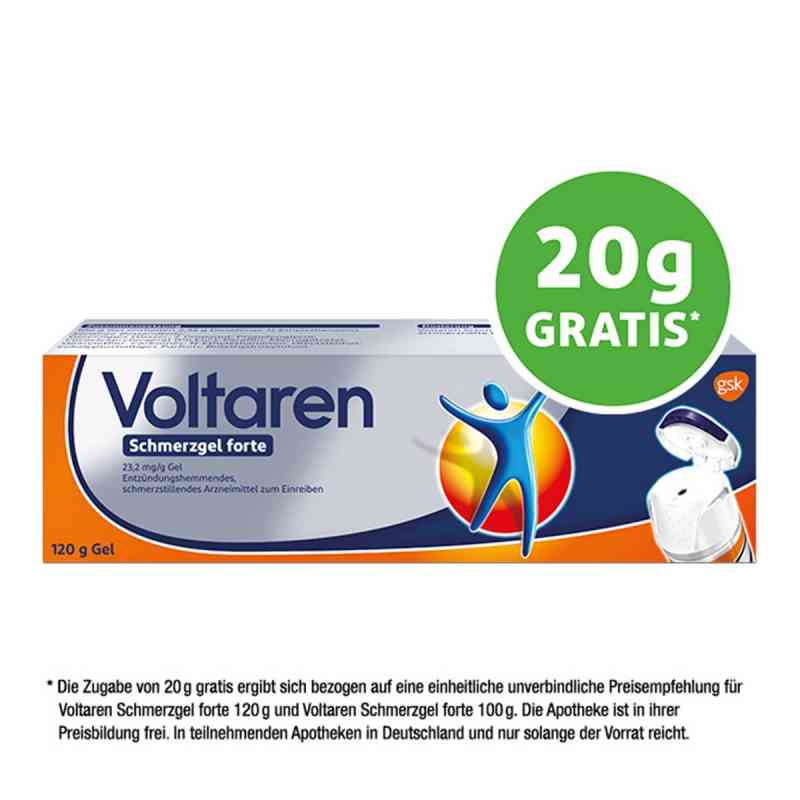 Voltaren Schmerzgel forte 23,2 mg/g  bei apolux.de bestellen