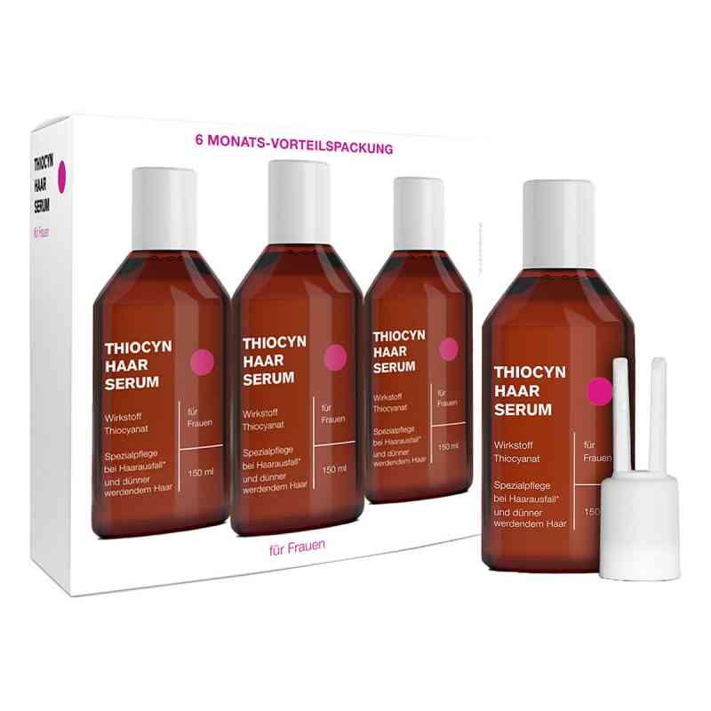 Thiocyn Haarserum Frauen - bei Haarausfall - Vorteilspackung  bei apolux.de bestellen