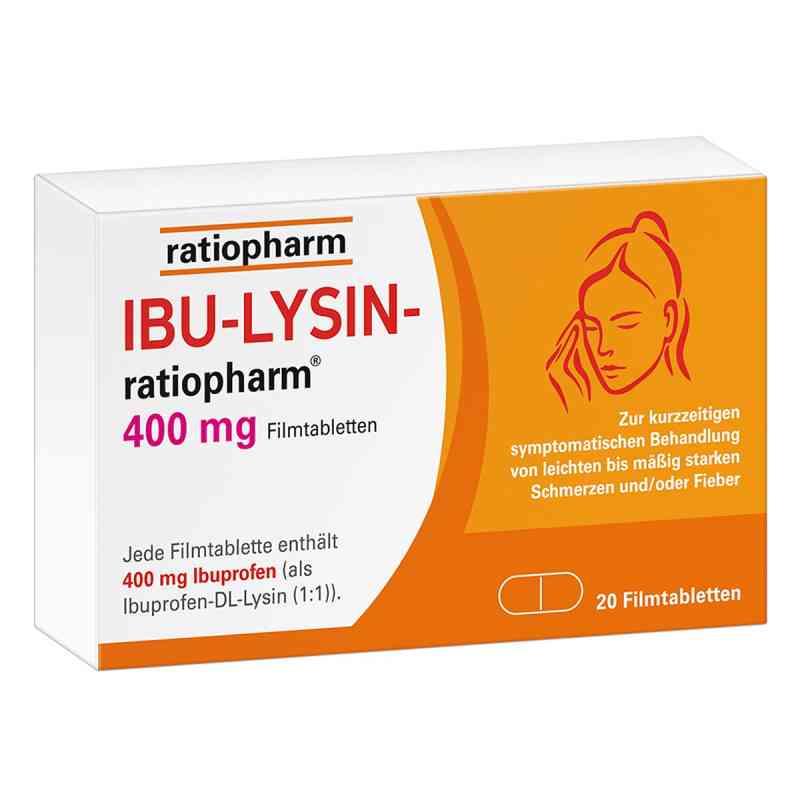 Ibu-lysin-ratiopharm 400 mg Filmtabletten  bei apolux.de bestellen